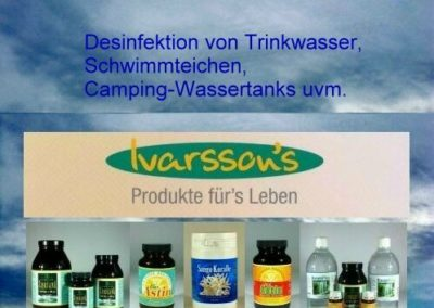 Wasserdesinfektion – Produkte fürs Leben