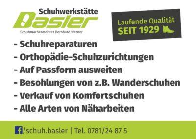 Schuhwerkstätte Basler