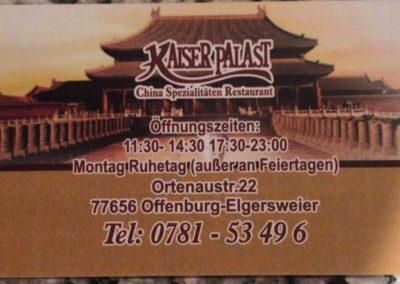 China Restaurant Kaiserpalast